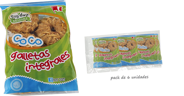 galletas integrales coco
